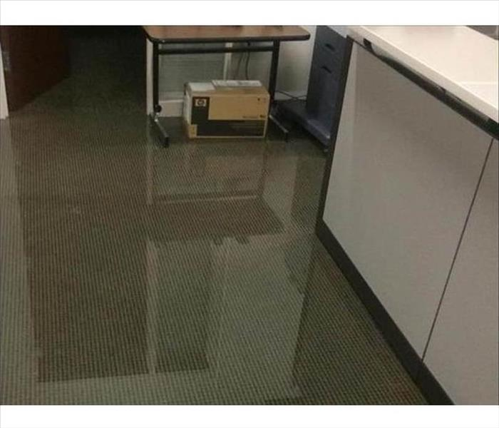 Too Much Water in a Shreveport Office Before