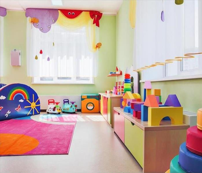 Commercial Restoring Safe Conditions after Commercial Fire Damage Happens in a Shreveport Daycare