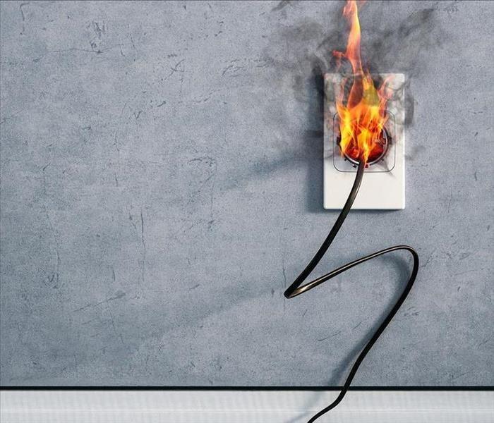Fire Damage Misused Electrical Outlets Can Cause Fire Damages In Your Shreveport Home