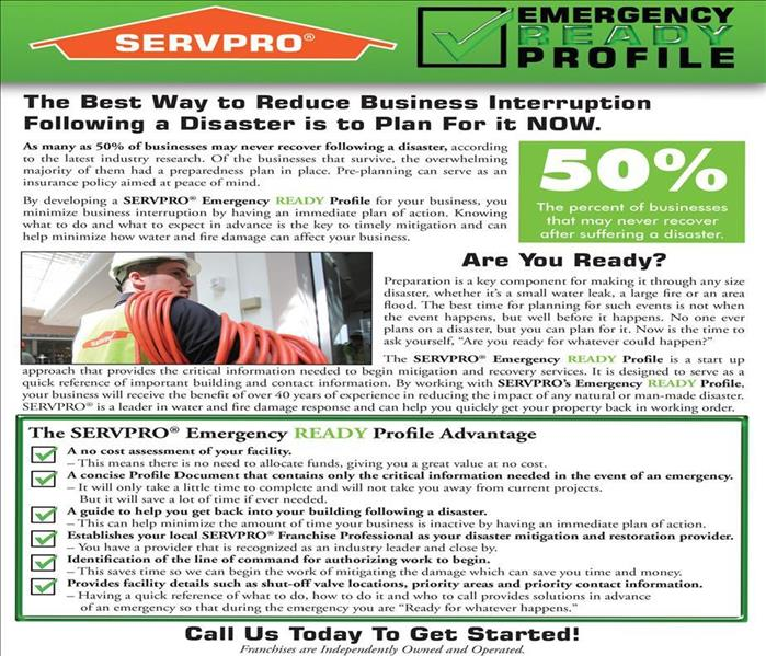 Commercial Set Your Mind At Ease Concerning Your Shreveport Business -- Develop A SERVPRO Emergency READY Plan