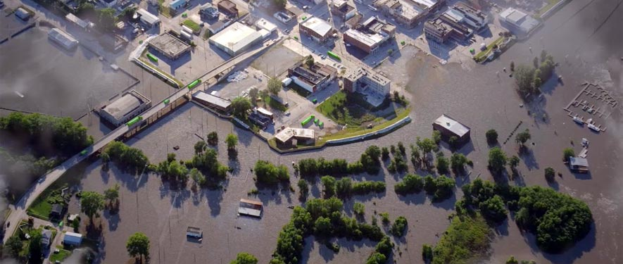 Shreveport, LA commercial storm cleanup